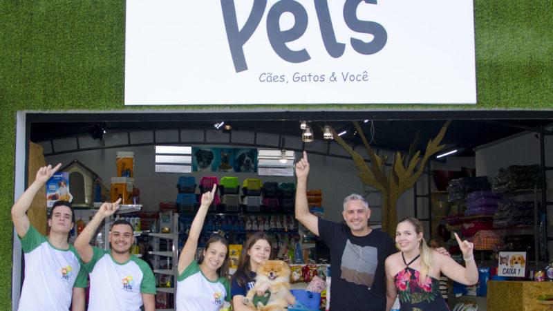 Inauguração do Pets  Cães, Gatos & Você