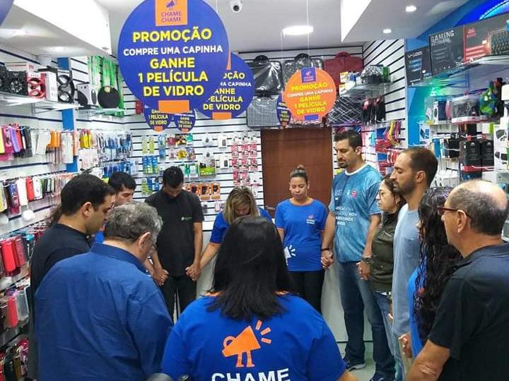 CHAME CHAME Inaugura Loja no Centro de São Sebastião