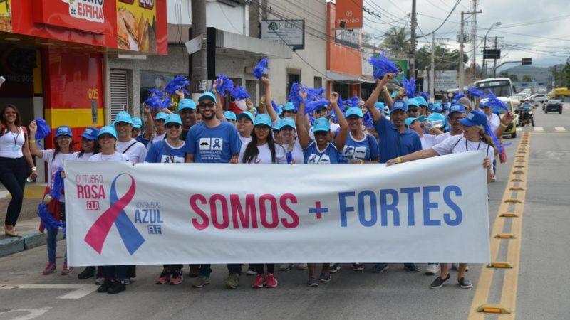 Caraguatatuba promove ações de alerta contra o Câncer de Próstata no Novembro Azul