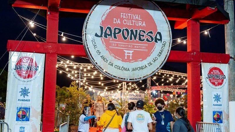 Noite de abertura do 1º evento-teste Festival da Cultura Japonesa é sucesso em São Sebastião