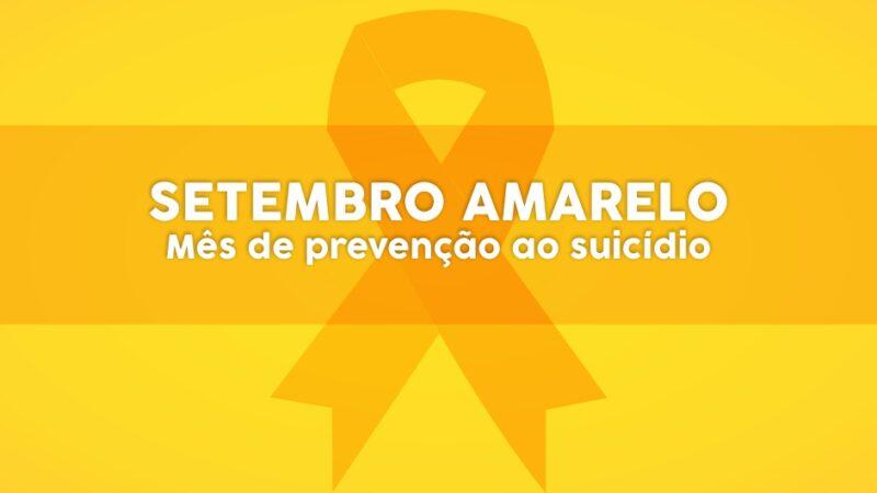 Ubatuba inicia campanha Setembro Amarelo com vídeo sobre prevenção ao suicídio
